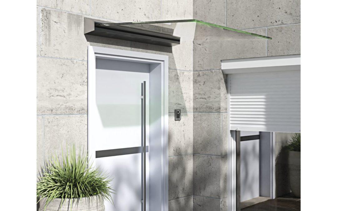 Glasvordach – Neues Design