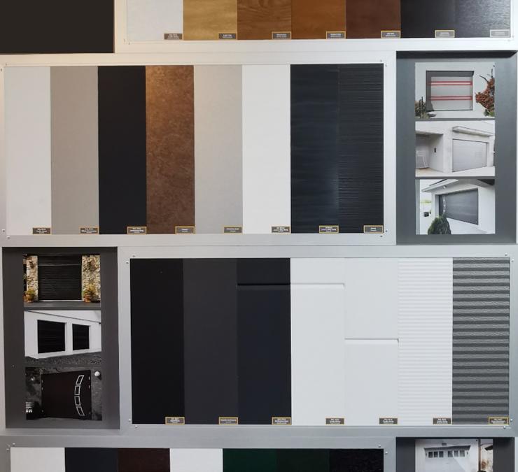 Garagentore neue Farben & Muster