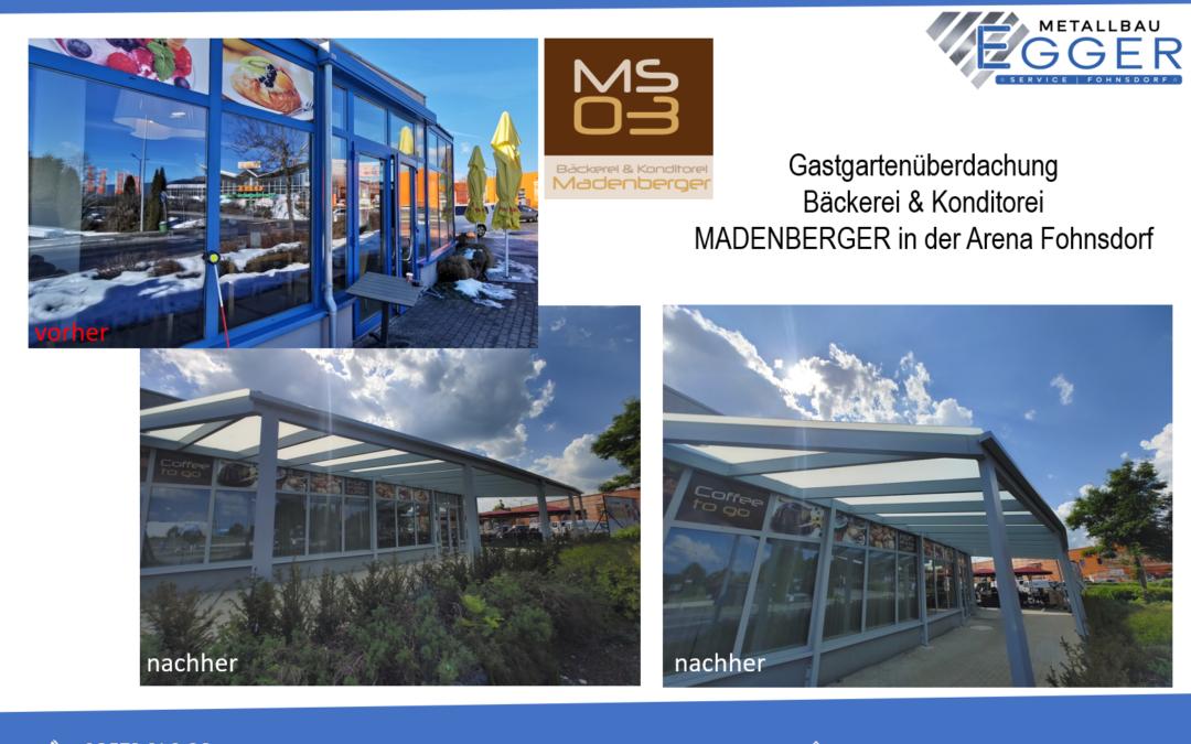 Gastgarten Cafe-Konditorei Madenberger